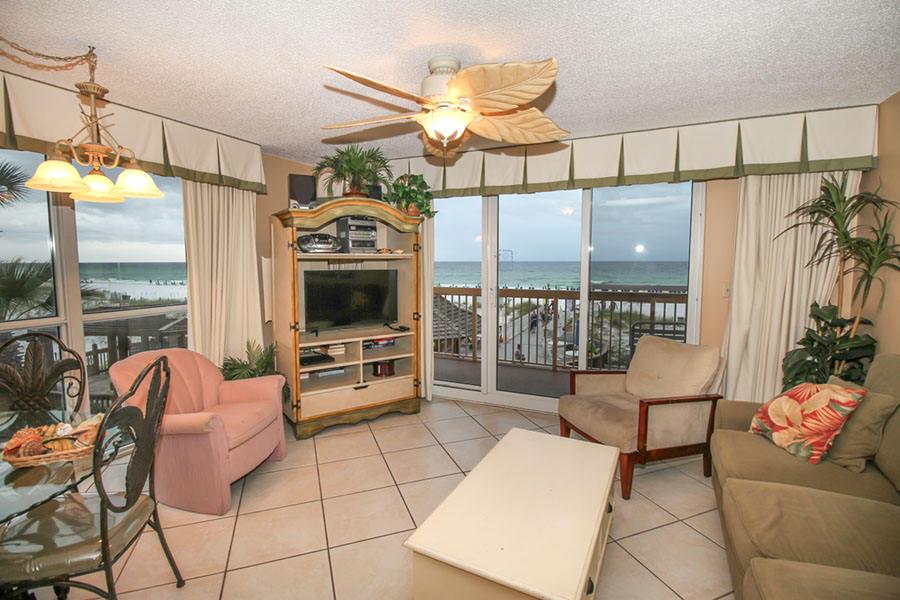 Dolphin 0201 destin florida condo rentals resorts of - 1 bedroom condos in destin fl on the beach ...